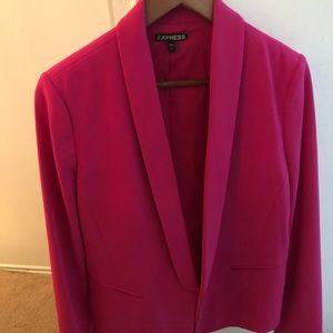 Express Hot Pink Blazer Size 12